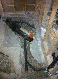 Basement Bathroom Rough-in