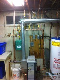 Boiler Re-pipe