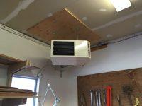 Garage unit heater