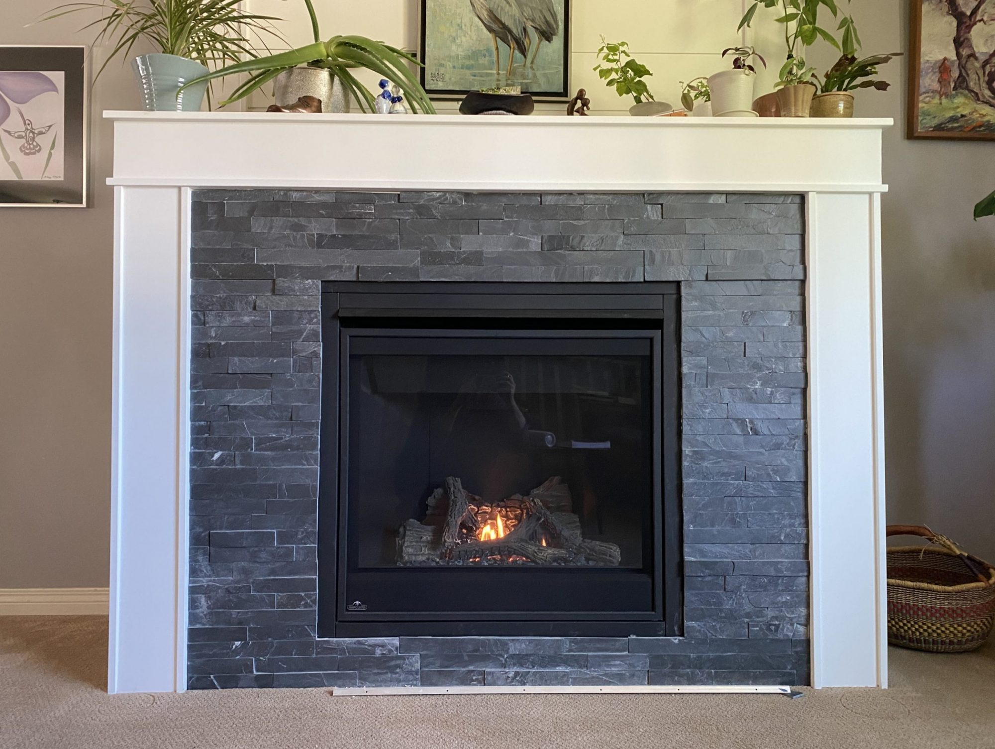 Zero clearance fireplace